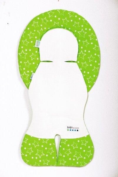 Odenwälder 10106-1190 Babycool-Schalensitz-Auflage Sterne limette
