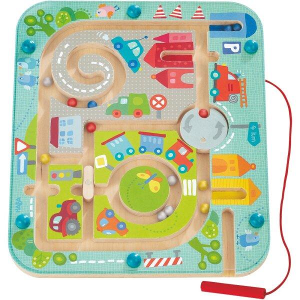 Haba 301056 Magnetspiel Stadtlabyrinth