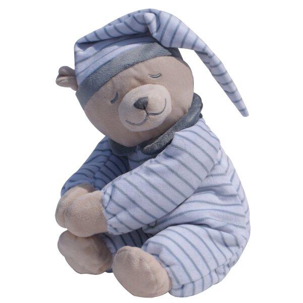 Babiage 0104 Doodoo Bär - Streifen grau