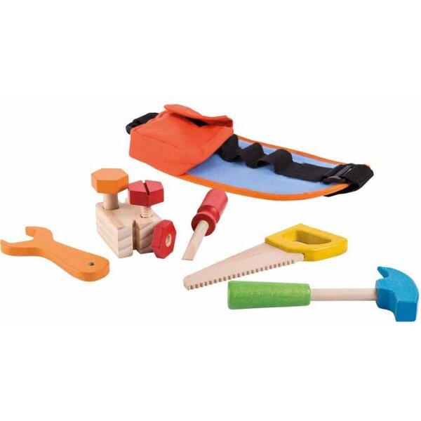 Jouéco 80022 - Werkzeuggürtel mit Werkzeug