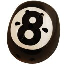 Kiddimoto 2kmh001s Design Sport Helm Eight Ball / Billardkugel Gr. S