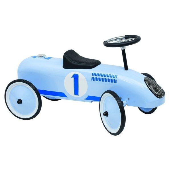 Goki 14166 - Rutscherfahrzeug in blau