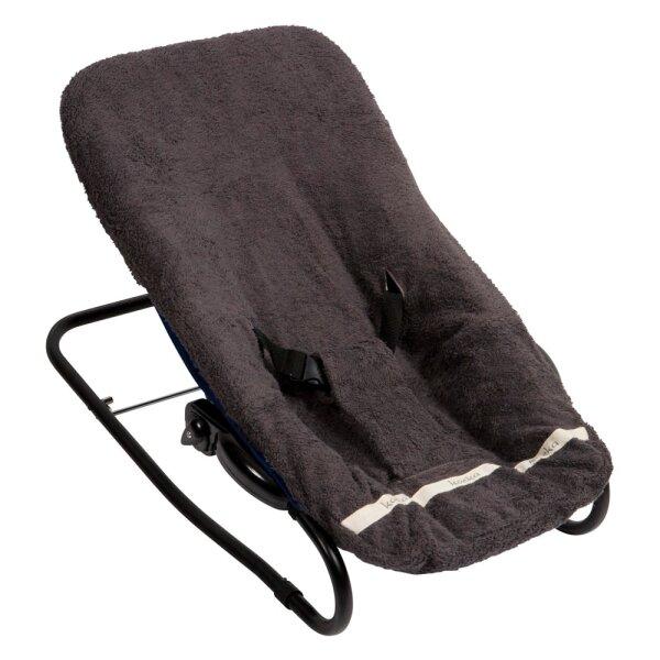 Koeka 1012/12-002 Bezug für Babyliege Florence dark grey 650, One size