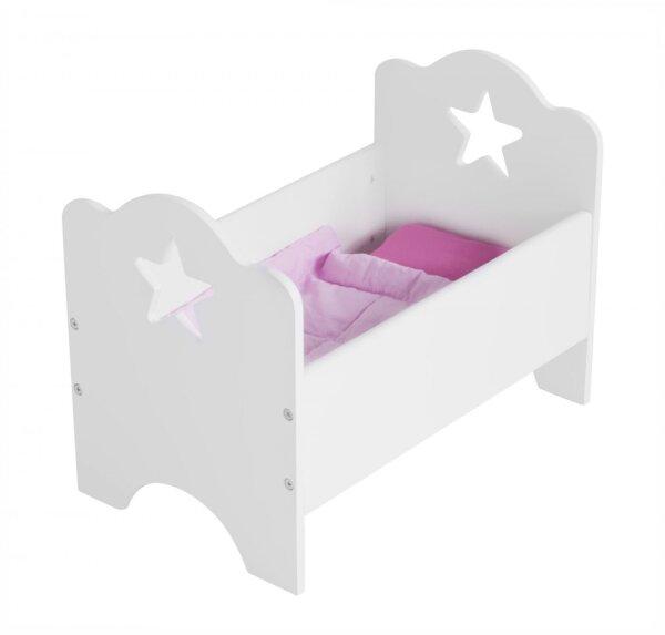 Kids Concept 700263 Puppenbett Star weiß