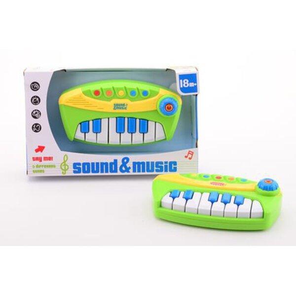 Johntoy 22216 Sound n Music Piano mit Licht und Sound