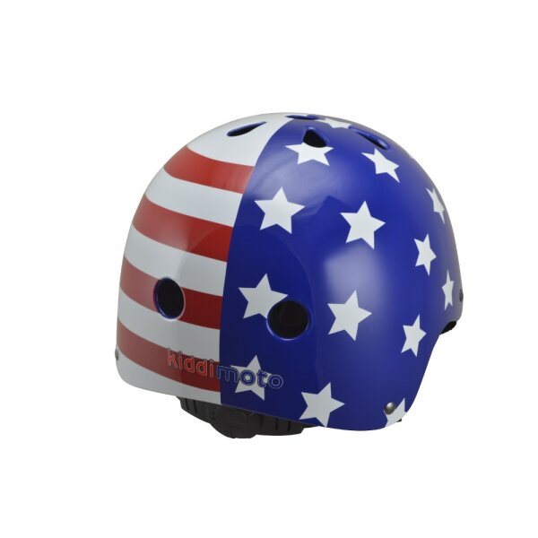 Kiddimoto 2kmh018s Design Sport Helm USA Flag / Flagge Gr. S
