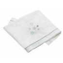 Bebes Collection 254-80 Fleece-Decke 75 x 100 Glitzer-Sterne