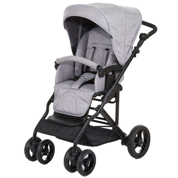 62de38cb3790 Circle by ABC Design Torino 6 Kombi Kinderwagen, woven grey
