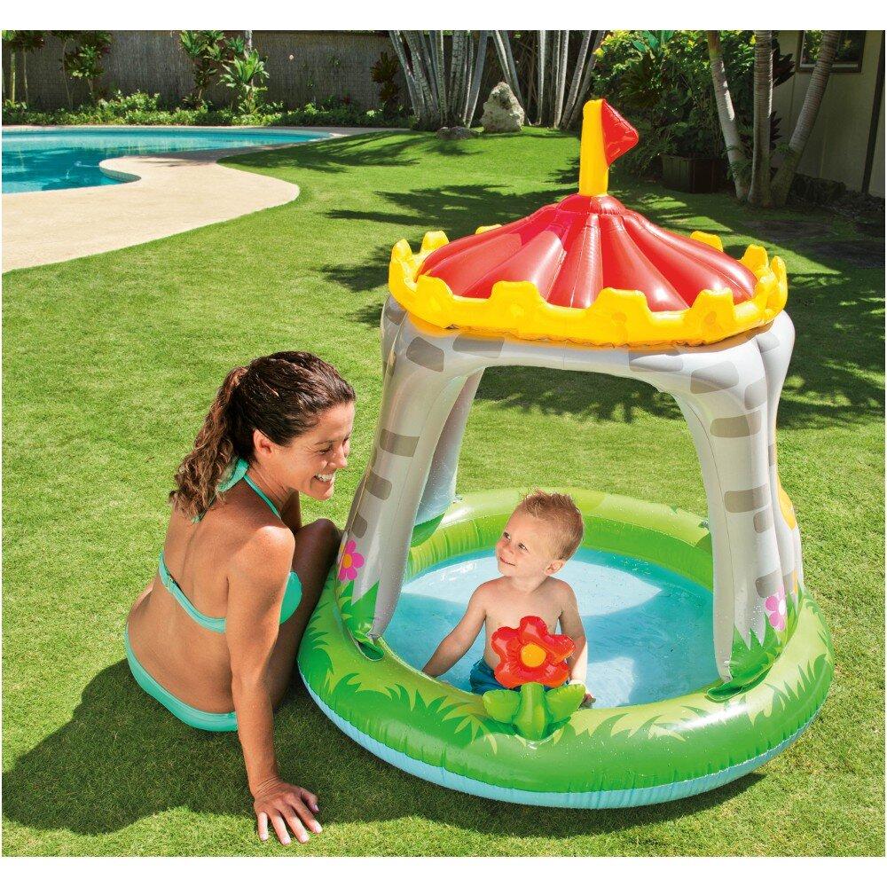 Intex 57122NP - Planschbecken Baby Pool Burg