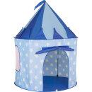 Kids Concept Spielzelt Star blau H130cm Ø100cm