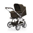 ABC Design Turbo 6 Kinderwagen leaf
