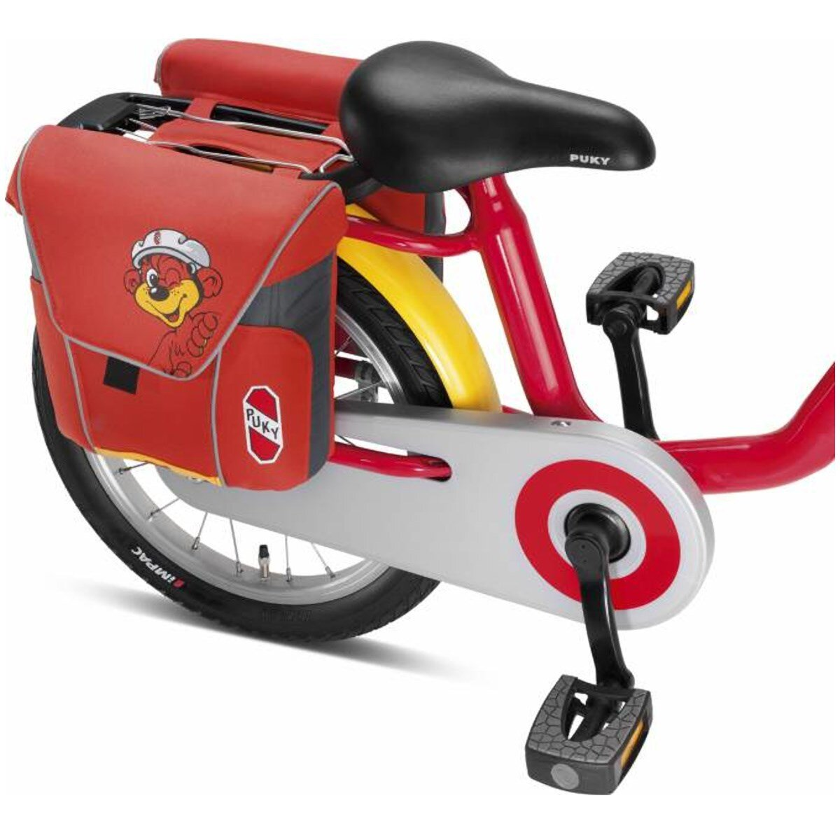 PUKY GmbH & Co. KG Puky Doppeltasche DT 3 für Gepäckträger Rot