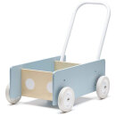 Kids Concept Lauflernwagen blau/grau