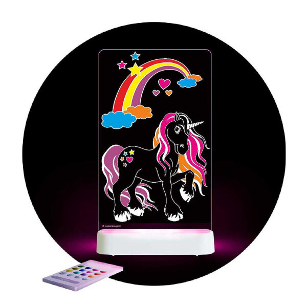 Aloka Nachtlicht Magic Unicorn Colour Me (with Pens)