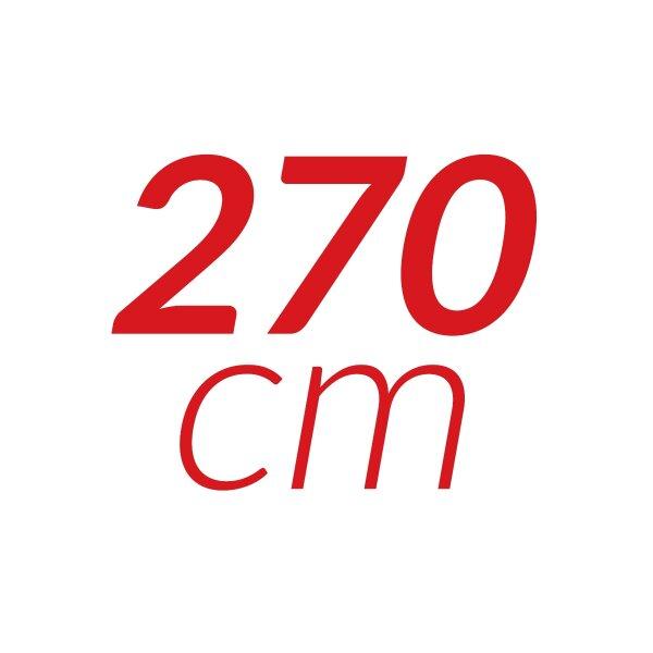 270 cm