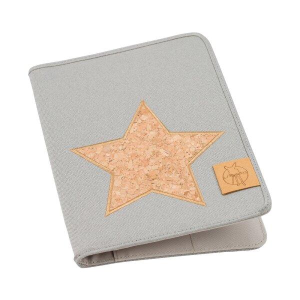 Cork Star Light Grey
